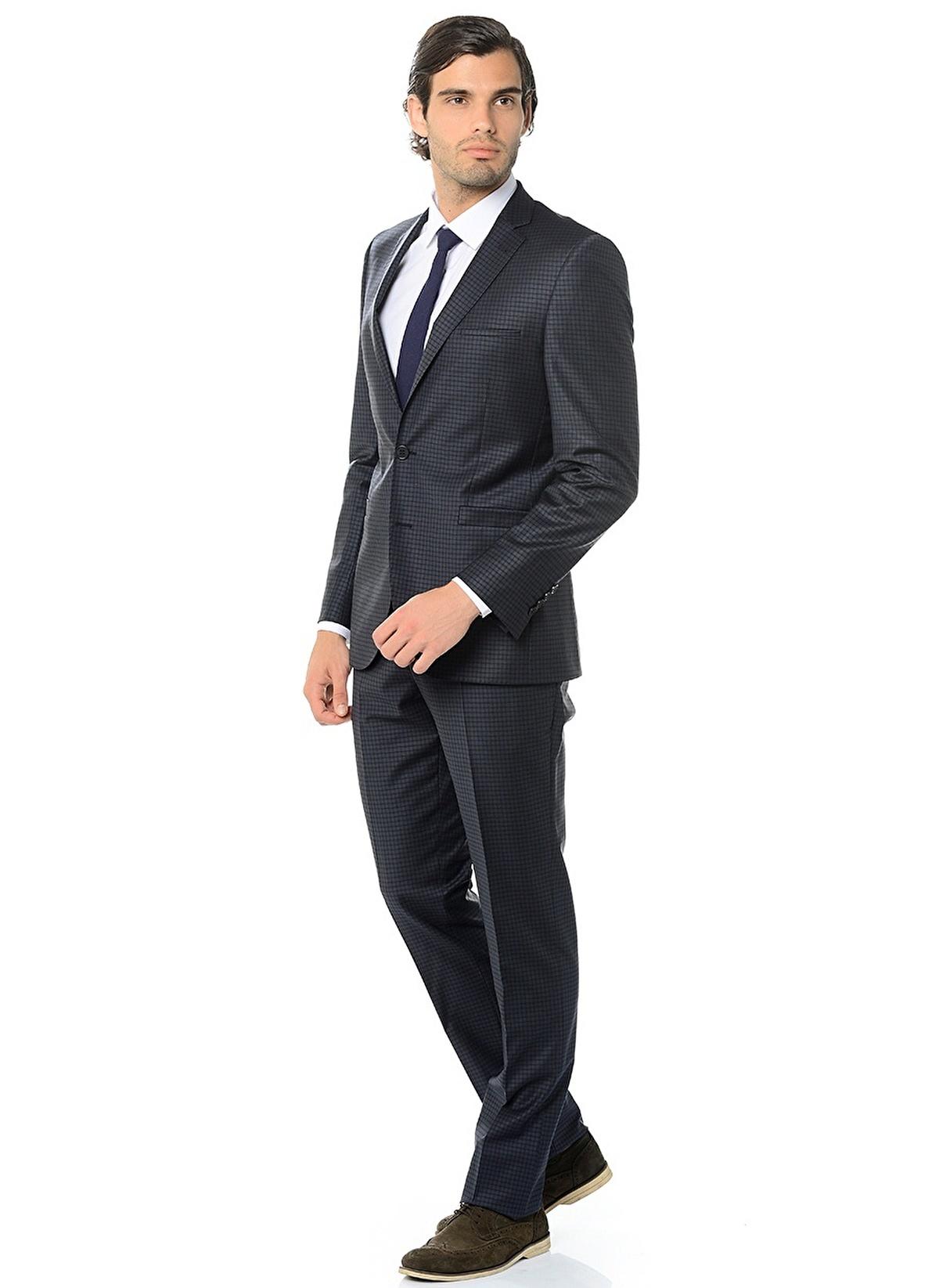 c611847b911f4 Altınyıldız Classics Erkek Takım Elbise Füme-Lacivert | Morhipo ...